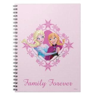 Family Forever Spiral Notebook