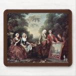 Family Fountaine Family Portrait By Hogarth, Mouse Pad