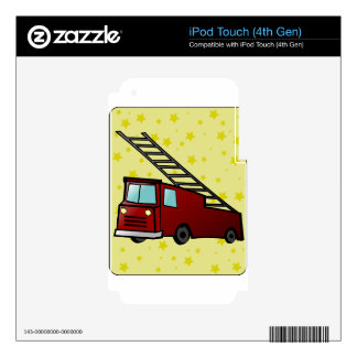 family friend home office congrats party art iPod touch 4G skin