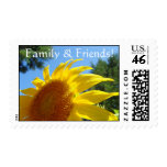 Family & Friends! stamps Sun Flower postage