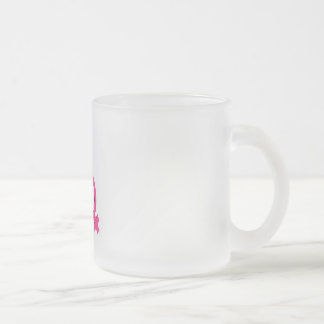 FAMILY. FROSTED GLASS COFFEE MUG
