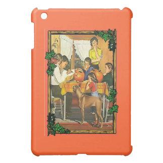 Family fun at Halloween iPad Mini Cover