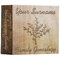 Family Genealogy Custom Binder