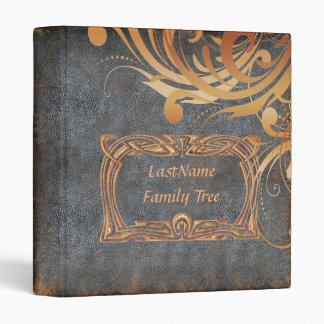 Family Genealogy Photo Album 3 Ring Binder
