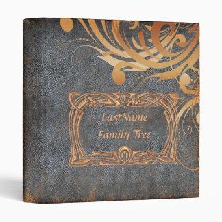 Family Genealogy Photo Album 3 Ring Binder