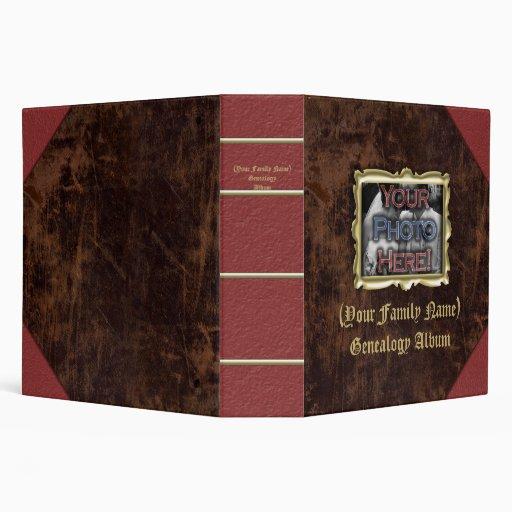 Family Genealogy Photo Album Binders