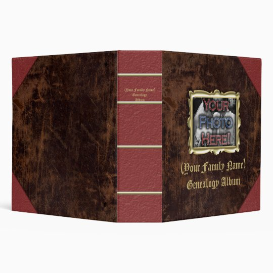 Family Genealogy Photo Album Binder Zazzle Com