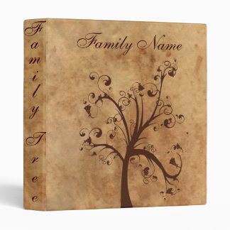 Family Genealogy Tree 3 Ring Binder