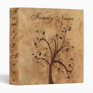 Family Genealogy Tree 3 Ring Binder