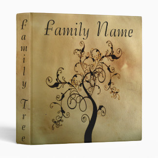 Family Genealogy Tree 3 Ring Binders