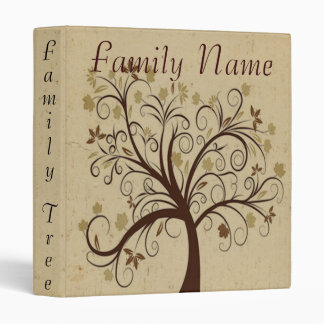 Family Genealogy Tree Binder