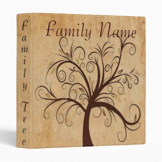 Family Genealogy Tree Vinyl Binder