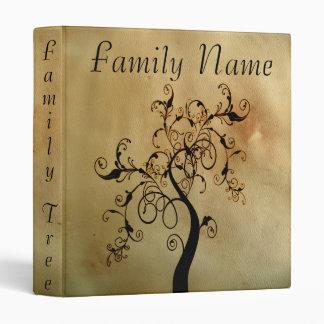 Family Genealogy Tree Vinyl Binders