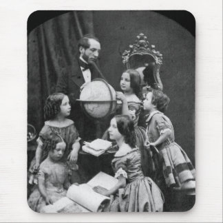 Family Geography Lesson ~ 1850 Mouse Pad