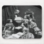 Family Geography Lesson ~ 1850 Mouse Pads