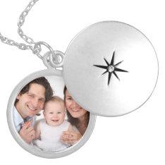 Family Girlfriend Boyfriend Custom Photo Gift Locket Necklace at Zazzle