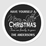 Family greeting seals PERSONALIZE Sticker