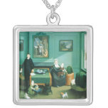 Family Group, c.1810 Personalized Necklace