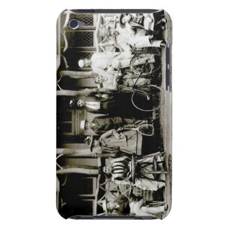 Family Group, c.1900 (b/w photo) Barely There iPod Cases