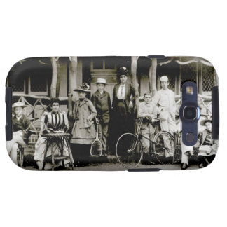 Family Group, c.1900 (b/w photo) Galaxy SIII Cases