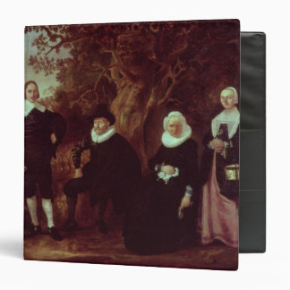 Family Group in a landscape 3 Ring Binder