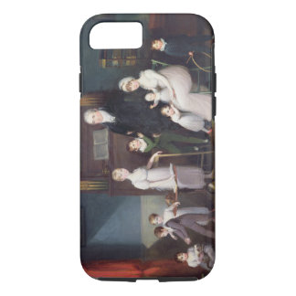 Family Group in an interior, c.1800 iPhone 7 Case
