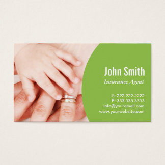 Family Hands Insurance Agency Business Card