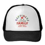 Family Happiness Trucker Hats