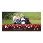 Family Happy Holidays Photo Card