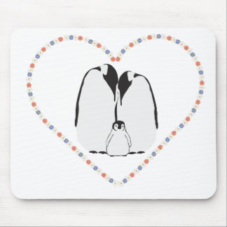 family heart mouse pad