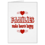 Family Hearts Greeting Cards