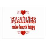 Family Hearts Post Card