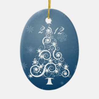 Family Heirloom, Yearly Ornament. (customize) Ceramic Ornament