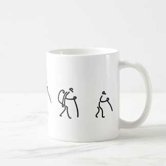 family hiking cup classic white coffee mug