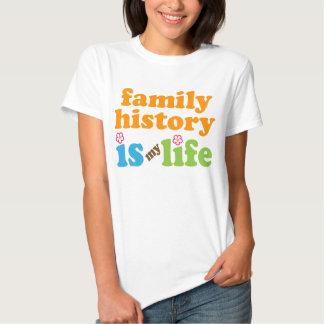 Family Historian Gift Girls T-Shirt