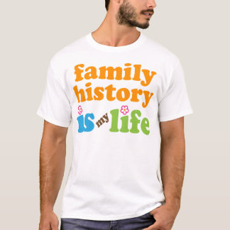 Family Historian Gift Girls T-Shirt