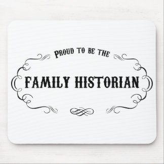 Family Historian Mouse Pad