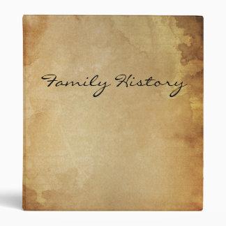 FAMILY HISTORY binder folder file
