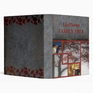 Family History Genealogy 2 Photos | Family Tree 3 Ring Binder