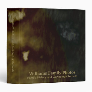 Family History/Genealogy Abstract Binders