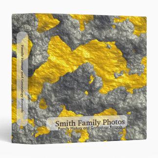 Family History/Genealogy Melting Gold Binder