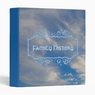 Family History Genealogy Photo Album Vinyl Binders
