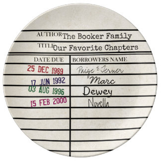 Family History Library Card Graphic Plate