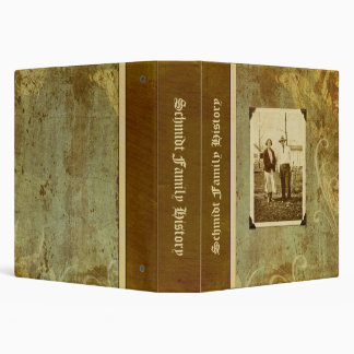 Family History (personalized) Binder