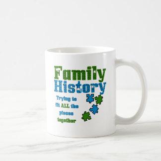 Family History Puzzle Coffee Mug