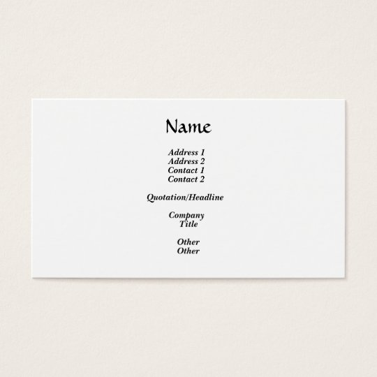 Family holding hands silhouette business card