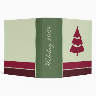 Family Holiday Scrapbook Photo Album Binder