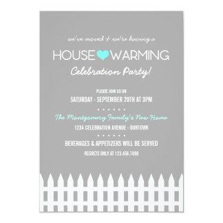 Family Housewarming Party Invitation