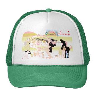 Family in Japanese Edo ara 2 Trucker Hat