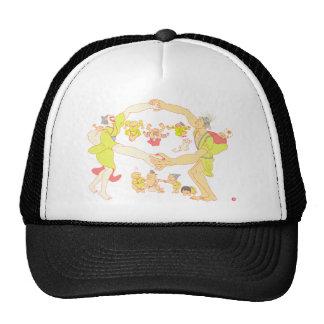 Family in Japanese Edo ara Trucker Hat